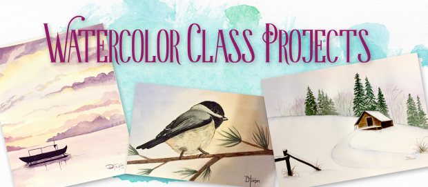 watercolor-class-projects